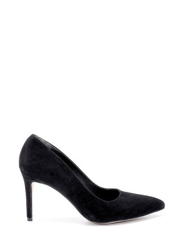 Derimod Kadın Stiletto (0Z-7526) Casual Siyah